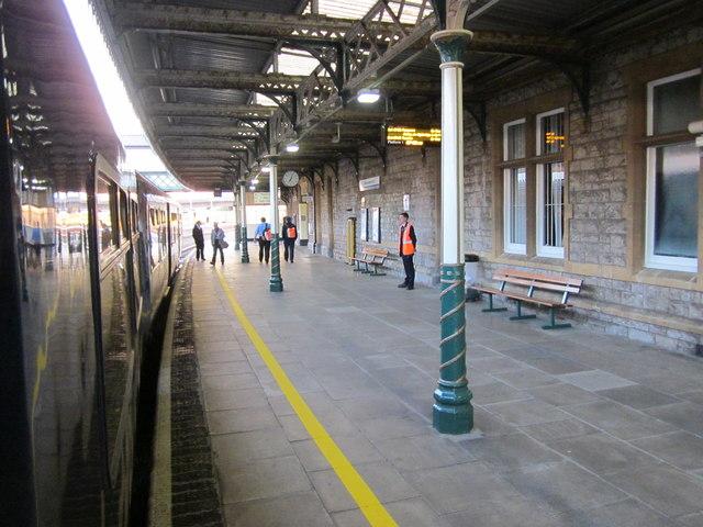 Weston-Super-Mare Station Platform
