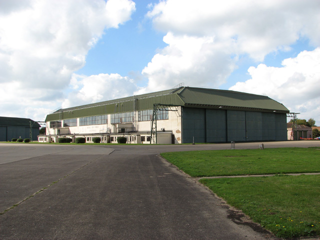 Hangar 2 as seen from hangar 1
