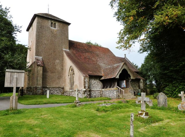 St. Catherine of Siena's church, Cocking, West Sussex
