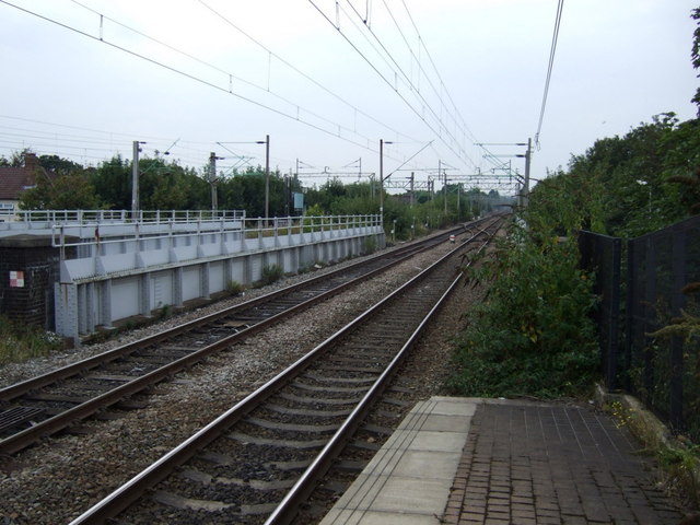 Railway towards Liverpool Lime Street