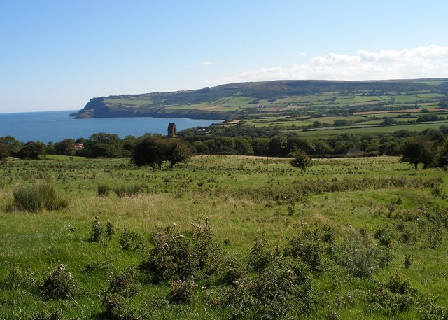 View from above Robin Hood's Bay
