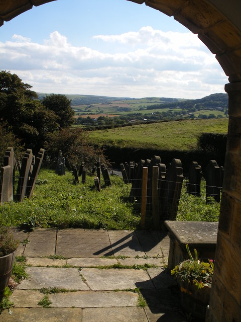View from the porch, old St Stephen's Church
