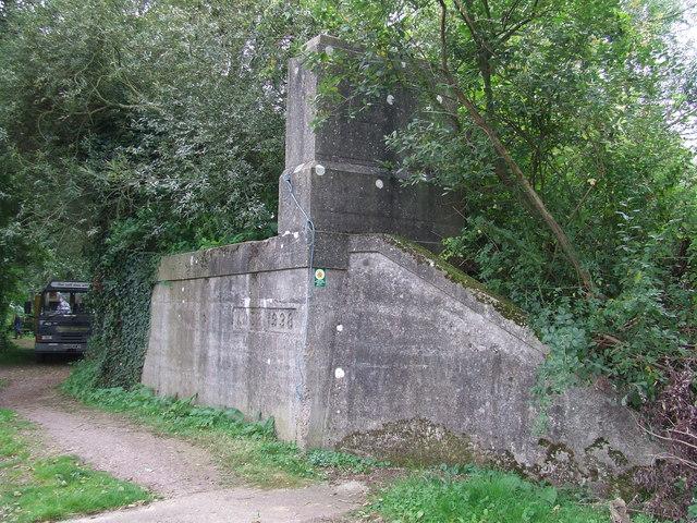 Former Railway Bridge Buttress