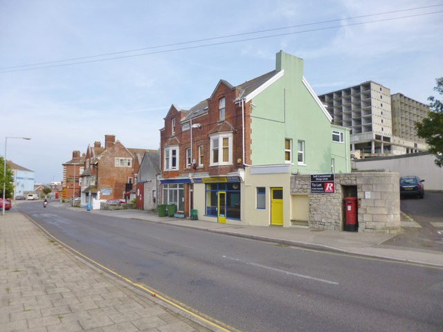 Castletown, closed shops