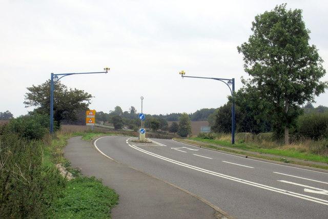 A428 towards Yardley Hastings