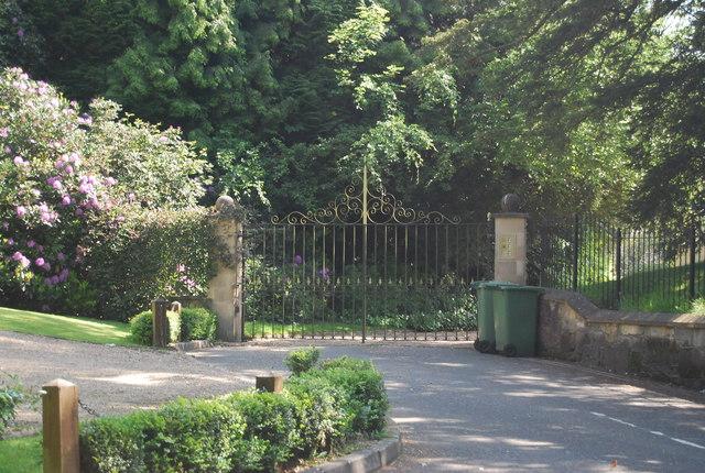 Gates to Blackhurst Park