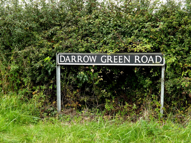 Darrow Green Road sign