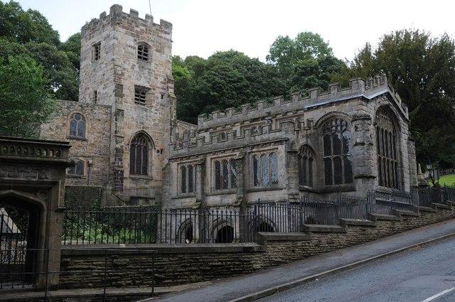 St James' church, Holywell