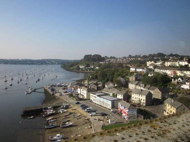 Saltash From The Royal Albert Bridge