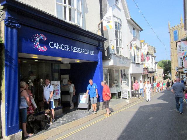 St Ives Cancer Research UK Shop