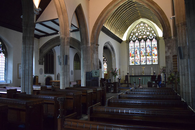 Church of St Edward King and Martyr, interior