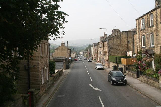Woodhead Road, Hinchliffe Mill
