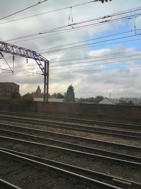 Across the tracks at Ardwick