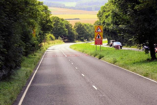 Westbound A31 near Ovingdon