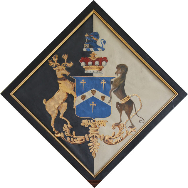 All Saints, Terling - Hatchment