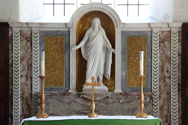 All Saints, Terling - Reredos