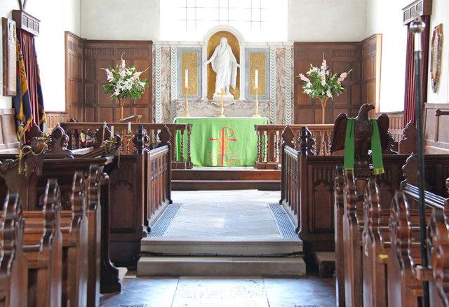 All Saints, Terling - Chancel