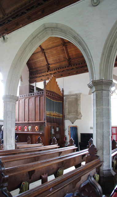 All Saints, Terling - Organ