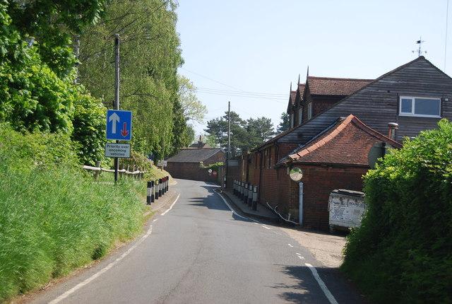 Approaching Pepenbury Hall