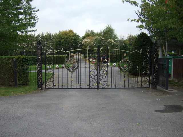 Knowsley Cemetery Gates