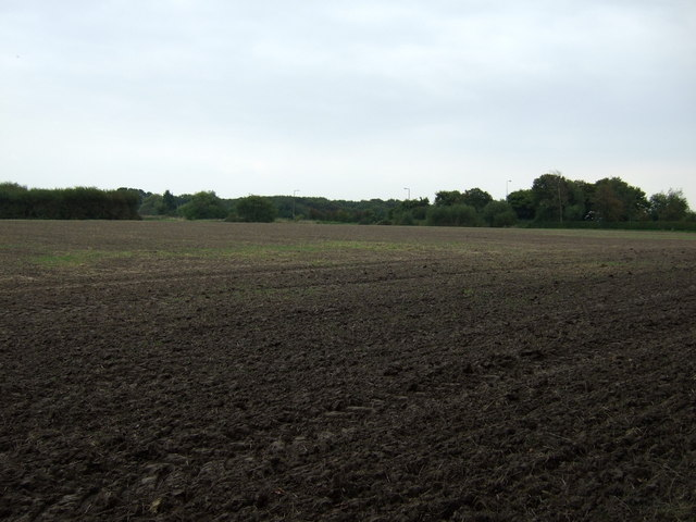 Farmland off Fox's Bank Lane