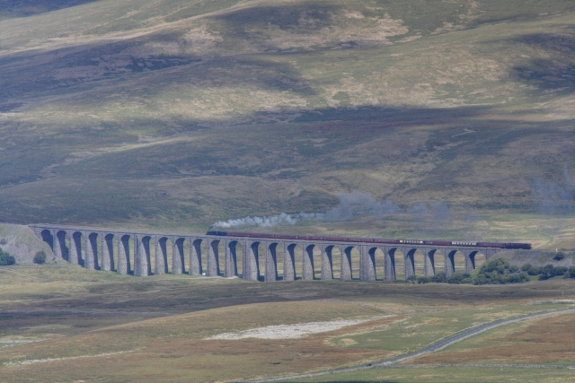 Steam on the Ribblehead Viaduct