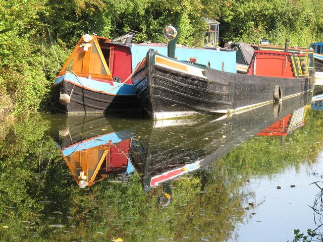 Narrowboats at Bates Boatyard (1)