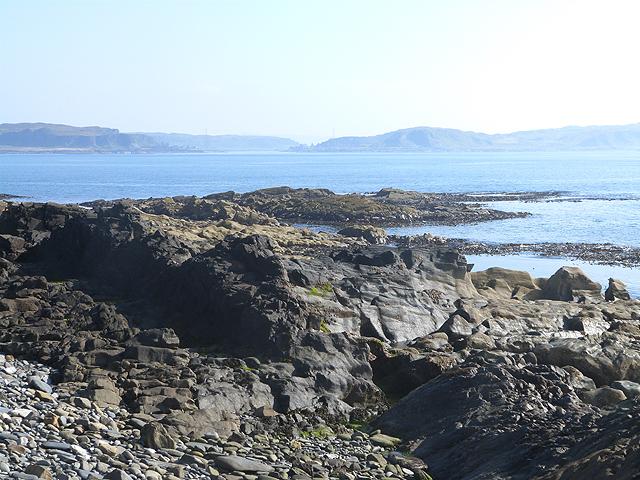 South coast of Easdale Island