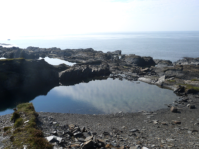 The swimming pool, Easdale