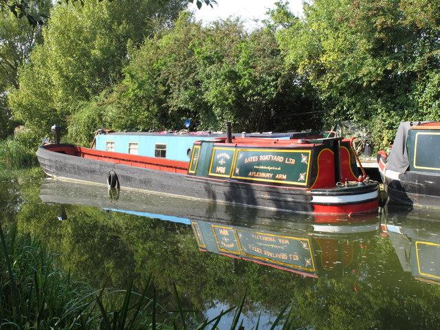 """Narrowboat """"Severn No 86"""" at Bates Boatyard"""