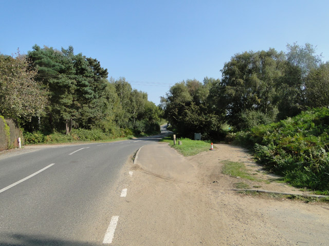 Road to Thorpeness, B1353