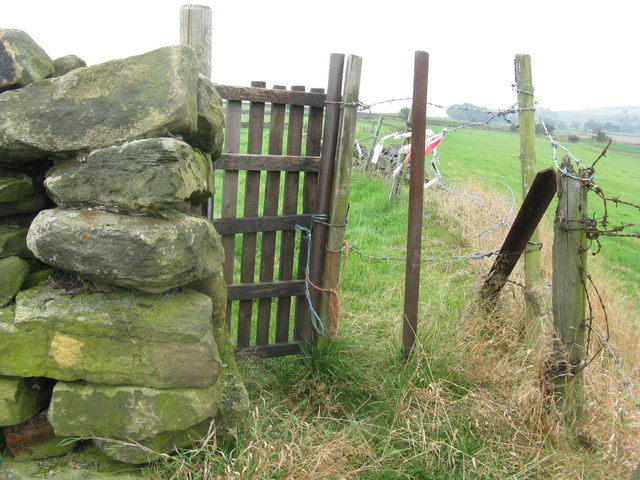 Gate on the path
