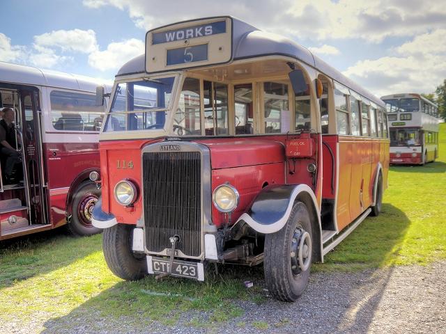 Leyland TS8 War Time Dual Purpose Coach