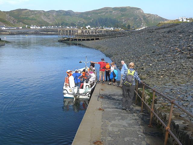 Easdale Ferry jetty