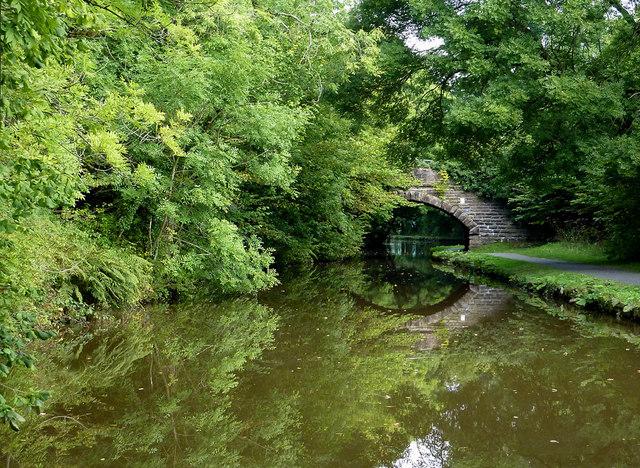 Peak Forest Canal north of Whaley Bridge, Derbyshire