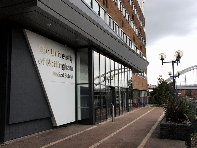University Medical School entrance