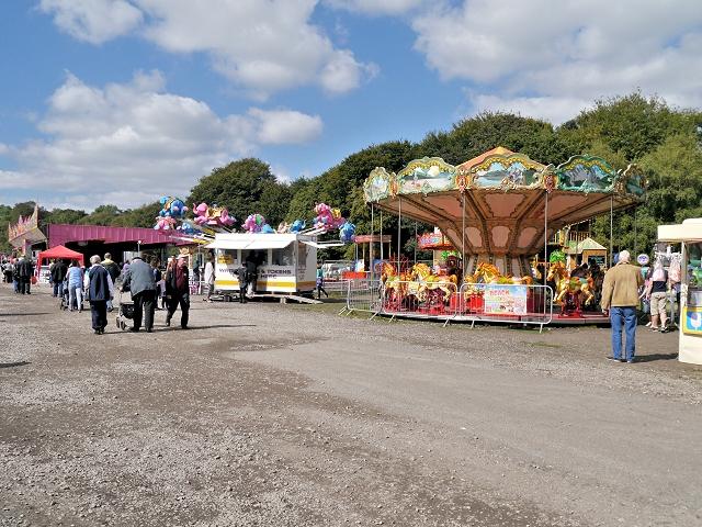 Fairground at Heaton Park