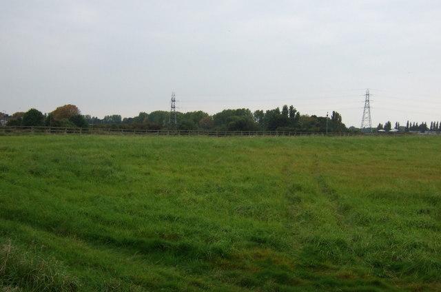Farmland east of Netherley