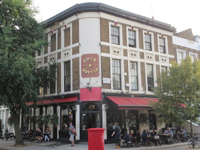 Cock and Bottle Pub, Paddington