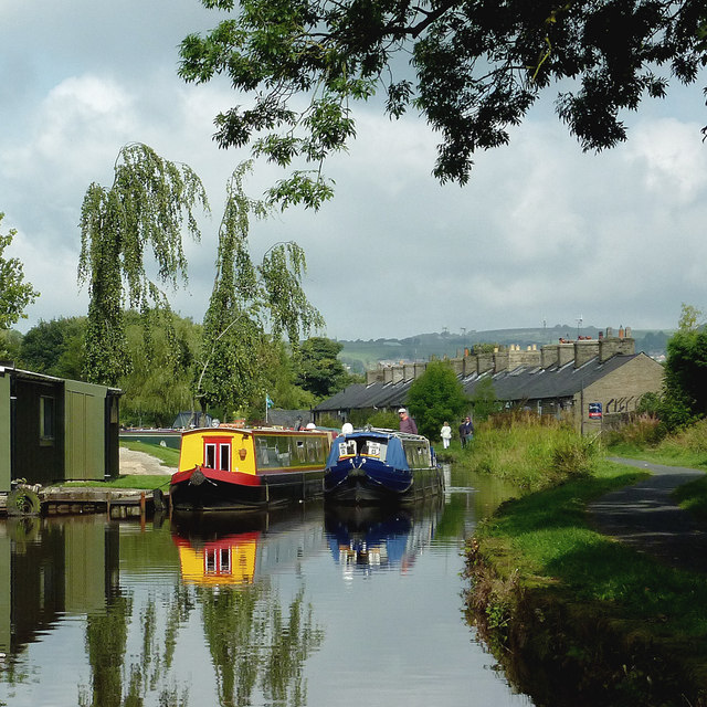 Peak Forest Canal at Furness Vale, Derbyshire