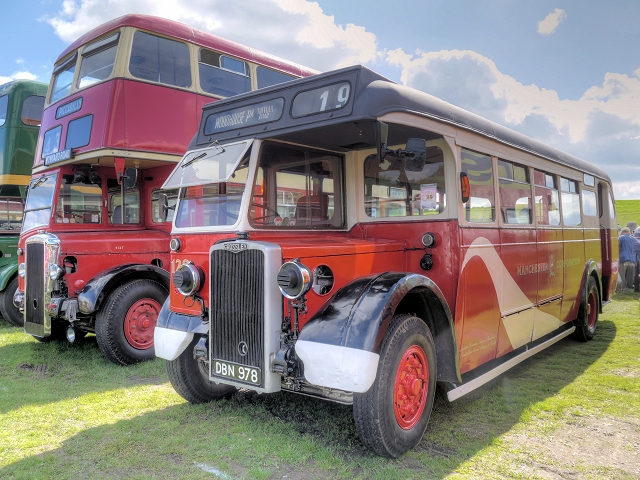 Trans Lancs Rally, Manchester Streamliner Livery