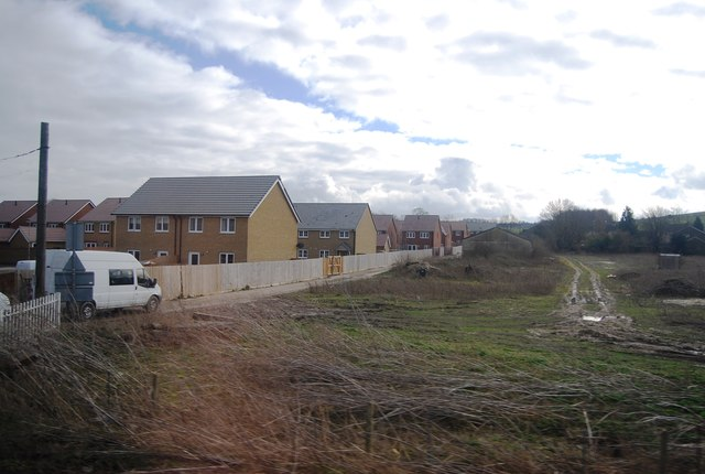 New housing on the edge of Royston