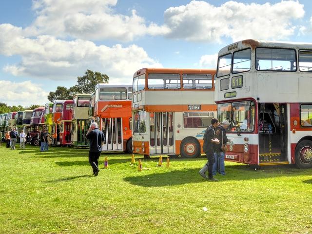 Heaton Park Showground, 2014 Trans Lancs Rally