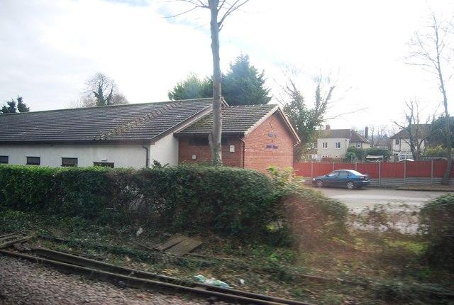 Church by the railway