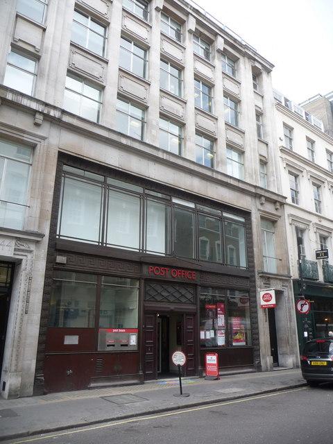 London: Albemarle Street Post Office