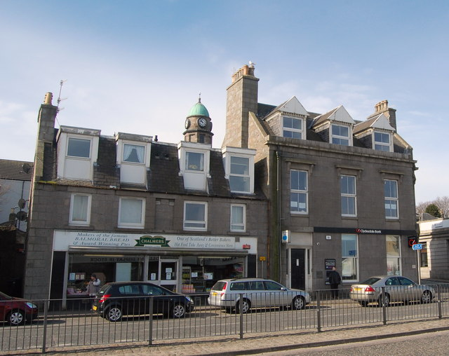 Baker and Bank, Great Northern Road, Aberdeen
