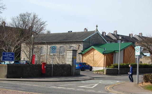 St Joseph's RC Church, Woodside, Aberdeen