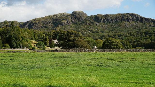 View Towards Green Crag, Eskdale