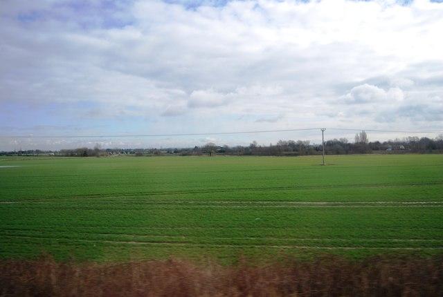 Farmland near Meldreth
