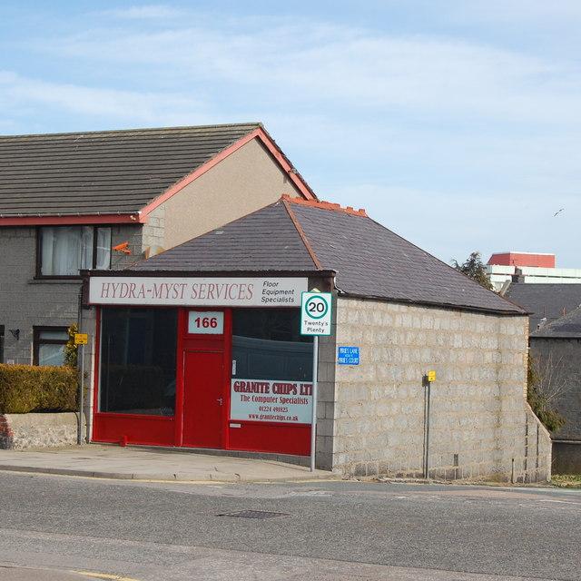 Small business, Clifton Road, Aberdeen